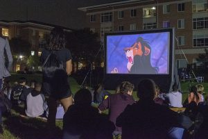 Outdoor movie - Lion King
